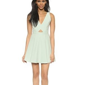 mint green Dress  Alice and olivia